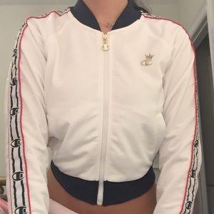 cropped champion jacket